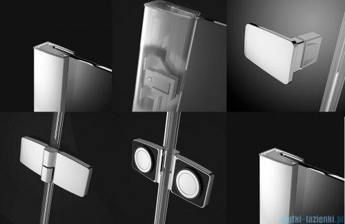 Radaway Fuenta New Kdj kabina 100x90cm lewa szkło przejrzyste + brodzik Doros D + syfon