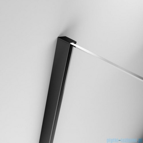 Radaway Furo Black DWJ RH drzwi prysznicowe 100cm lewe szkło przejrzyste 10107492-54-01LU/10110510-01-01
