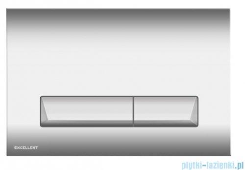 Excellent Platto przycisk spłukujący 2-funkcyjny chrom INEX.PL230.150.CR