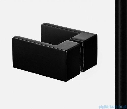 New Trendy Avexa Black kabina prostokątna 100x70x200 cm przejrzyste prawa EXK-1585
