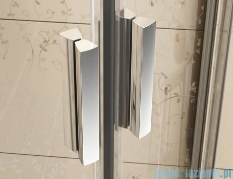 Ravak Blix BLRV2K drzwi prysznicowe 1/2 90cm satyna grape Anticalc 1XV70U00ZG