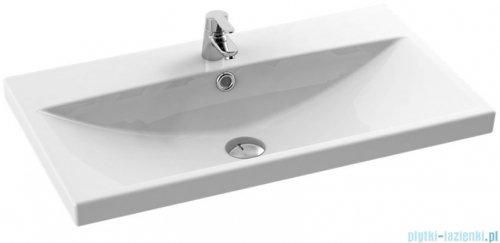 New Trendy umywalka ceramiczna z otworem na baterię 70 cm U-0090