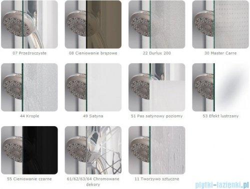 SanSwiss Pur PUDT3P Ścianka boczna 80x200cm Master Carre PUDT3P0801030