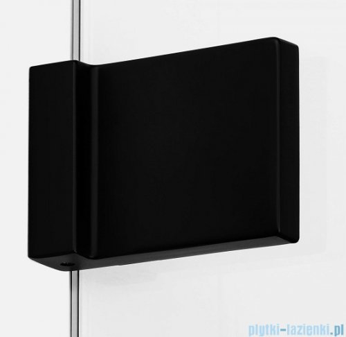 New Trendy Avexa Black kabina prostokątna 110x70x200 cm przejrzyste lewa EXK-1827