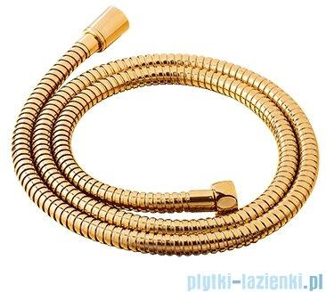 Omnires wąż prysznicowy 150 cm złoty 029GL