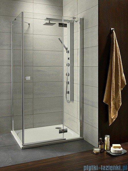 Radaway Almatea Kdj Gold kabina prysznicowa 90x80 prawa szkło przejrzyste