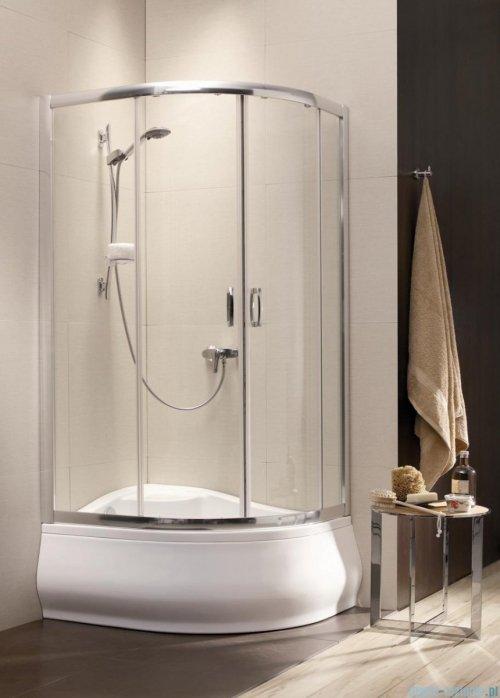Radaway Premium Plus A Kabina półokrągła 90x90 wysokość 170cm szkło grafitowe