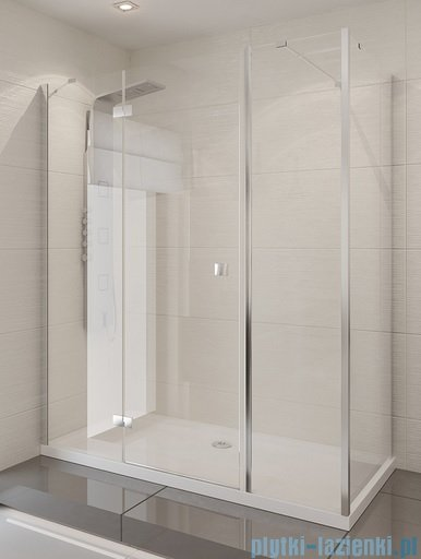 New Trendy Modena kabina prysznicowa 150x70 lewa szkło przejrzyste