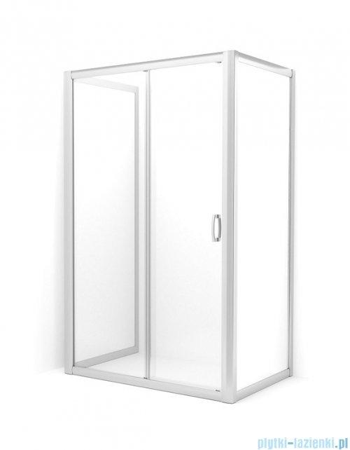Radaway Premium Plus DWJ+2S kabina przyścienna 100x100x100cm szkło przejrzyste