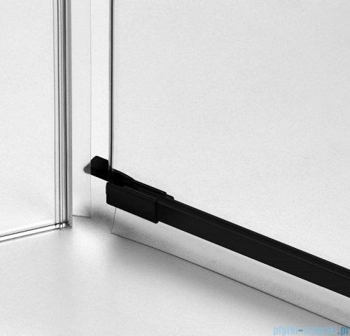 New Trendy Avexa Black kabina prostokątna 80x110x200 cm przejrzyste prawa EXK-1569