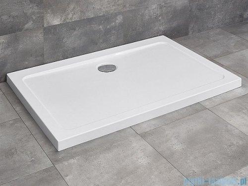 Radaway Torrenta Kdj Kabina prysznicowa 80x90 lewa szkło przejrzyste + brodzik Doros D + syfon 32247-01-01NL