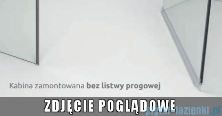 Radaway Euphoria PDD Kabina prysznicowa 80x80 szkło przejrzyste bez progu