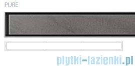 Wiper Premium Slim Pure odpływ liniowy 120 cm z kołnierzem WPS1200PU