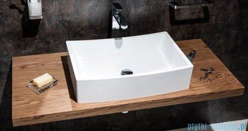 Ravak Formy 02 umywalka nablatowa 60x41cm bez przelewu XJM01260000