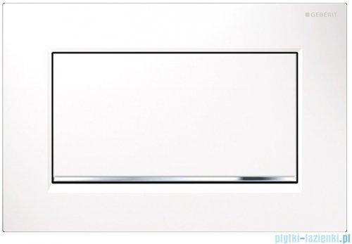 Geberit Sigma30 1M Przycisk uruchamiający przedni biały/chrom błyszczący/biały 115.893.KJ.1