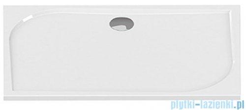 New Trendy Savos brodzik prostokątny z konglomeratu 120x90x3 cm
