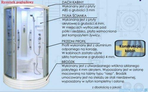 Duschy Kabina z hydromasażem 80x80cm model 5304