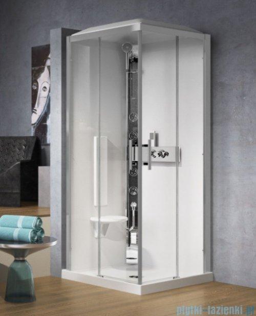 Novellini Glax 3 A90 kabina standard 90x90 chrom GL3A99M-1K