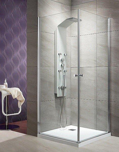 Radaway Eos KDD kabina prysznicowa 100x100 szkło przejrzyste ShowerGuard
