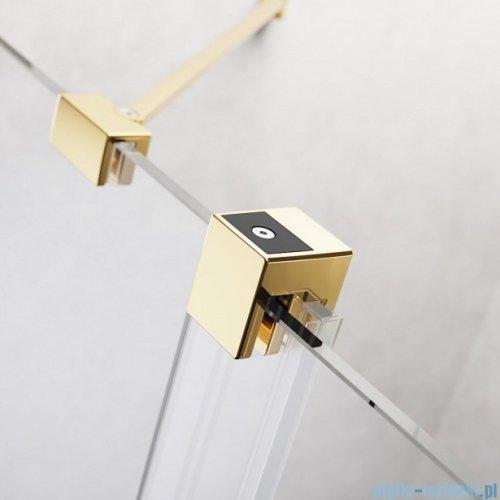Radaway Furo Gold DWJ drzwi prysznicowe 110cm lewe szkło przejrzyste 10107572-09-01L/10110530-01-01