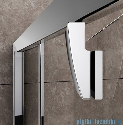Ravak Pivot PDOP2 drzwi prysznicowe 100cm aluminium transparent Anticalc 03GA0C00Z1