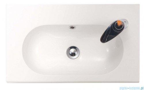 Bathco umywalka blatowa dolomitowa Ice 60x35 cm 0516