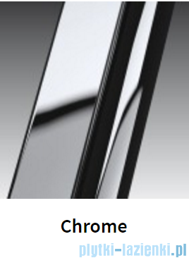Novellini Drzwi do wnęki uchylne GIADA 1B 97 cm prawe szkło przejrzyste profil chrom GIADN1B97D-1K