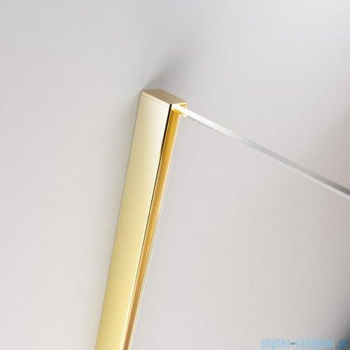 Radaway Furo Gold PND II parawan nawannowy 130cm prawy szkło przejrzyste 10109688-09-01R/10112644-01-01