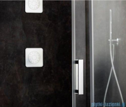 Ravak Matrix MSD2 drzwi prysznicowe 100cm lewe białe transparent 0WLA0100Z1
