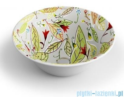 Bathco New Nordic Crudo Autumn Umywalka 40x40cm nablatowa 4062/BCRU54