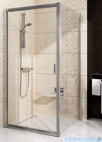 Ravak Blix BLDP2 drzwi prysznicowe 120cm satyna transparent Anticalc 0PVG0U00Z1