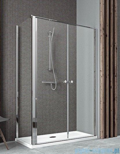 Radaway Eos II DWD+S Drzwi prysznicowe 90x197 szkło przejrzyste