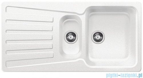 Blanco Nova 6 S Zlewozmywak Silgranit PuraDur kolor: biały   bez kor. aut. 510488