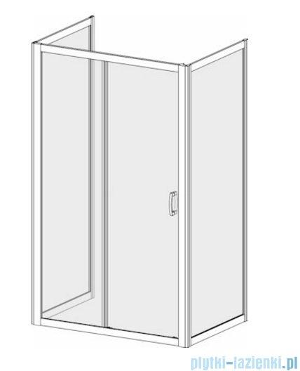 Radaway Premium Plus DWJ+2S kabina przyścienna 75x150x75cm szkło przejrzyste