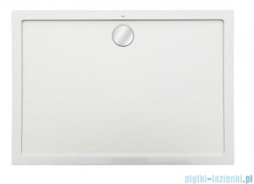 Roca Aeron brodzik prostokątny 120x70x3,5cm biały + syfon A276289100