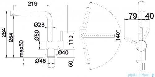 Blanco Linus-s  bateria wysokociśnieniowa kolor: czarny  516708