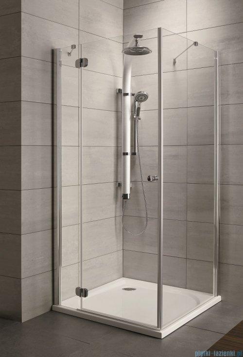 Radaway Torrenta Kdj kabina prysznicowa 120x90 lewa szkło przejrzyste + brodzik Doros D + syfon