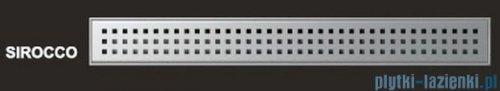 Wiper Odpływ liniowy Premium Sirocco 90cm z kołnierzem szlif S900SPS100