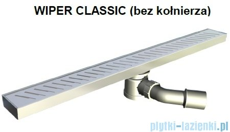 Wiper Odpływ liniowy Classic Ponente 120cm bez kołnierza poler P1200PCS100
