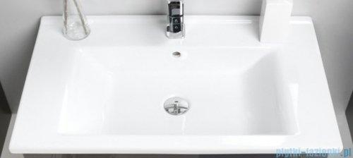Antado Variete ceramic szafka z umywalką ceramiczną 2 szuflady 72x43x50 czarny połysk 670983/666788