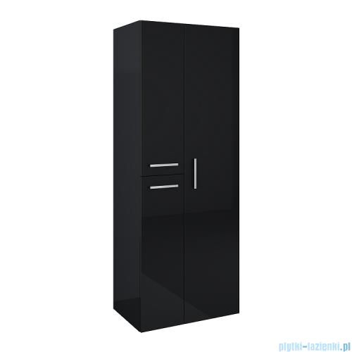 Elita Kwadro Plus słupek wiszący z lustrem 60x160x39cm black 167655