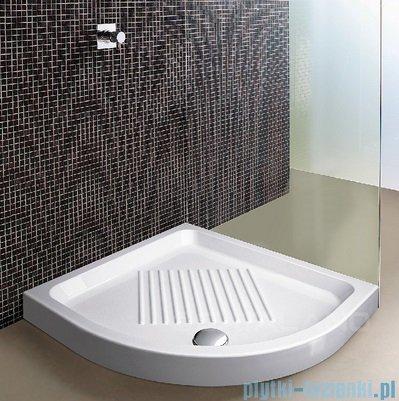 Catalano Base brodzik 80x80x12 cm ceramiczny półokrągły biały 18080A00