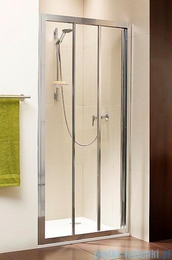 Radaway Treviso DW Drzwi wnękowe 90 szkło brązowe