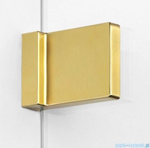 New Trendy Avexa Gold parawan nawannowy 2-częściowy 100x150 cm lewy przejrzyste EXK-2010