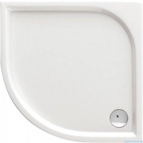 Deante Cubic brodzik półokrągły 80x80 biały KTK 052B