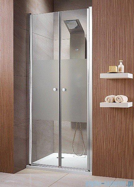 Radaway Eos DWD Drzwi wnękowe 80 szkło intimato