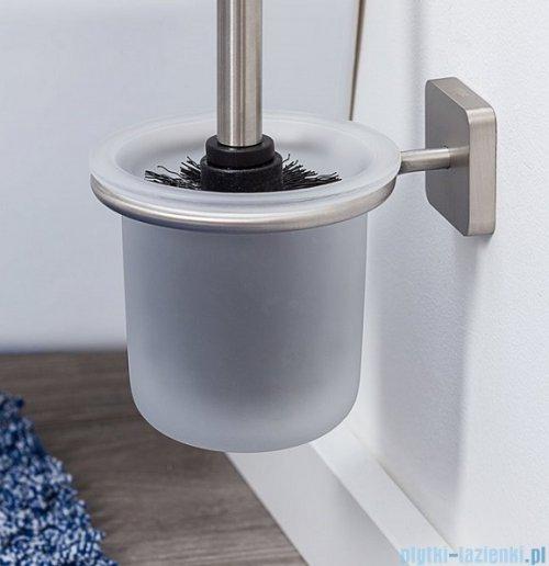Tiger Onu Szczotka WC stal szczotkowana 13199.3.09.46