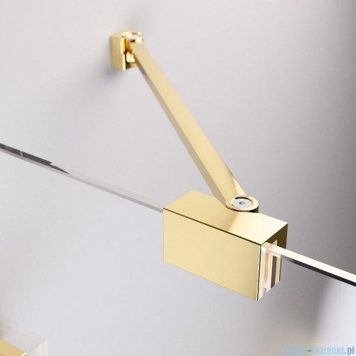 Radaway Essenza Pro Gold Kdj kabina 110x90cm prawa przejrzyste 10097110-09-01R/10098090-01-01