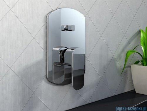 Kohlman Foxal podtynkowa bateria wannowo-prysznicowa z dwoma wyjściami