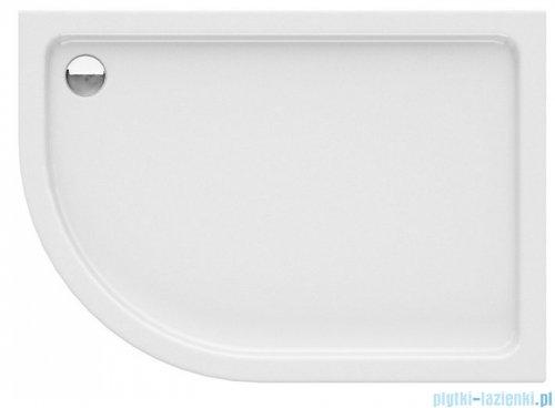 New Trendy New Maxima brodzik asymetryczny 100x80x14cm prawy